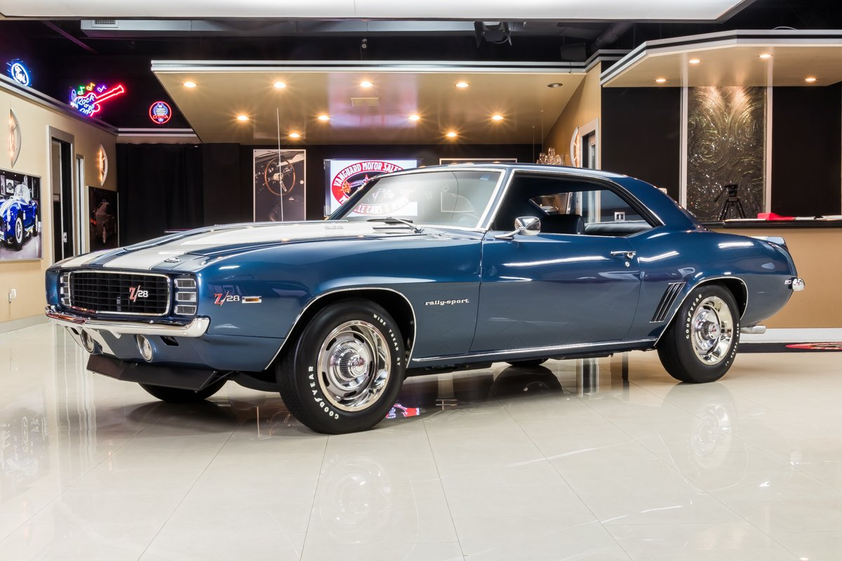 1969 chevrolet camaro z28 rs