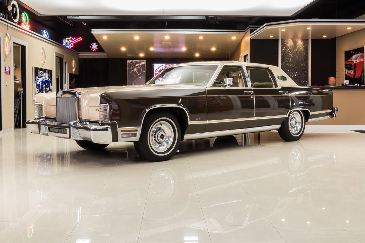 1979 lincoln town car williamsburg edition