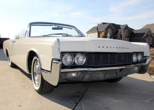 1967 lincoln continental watch video