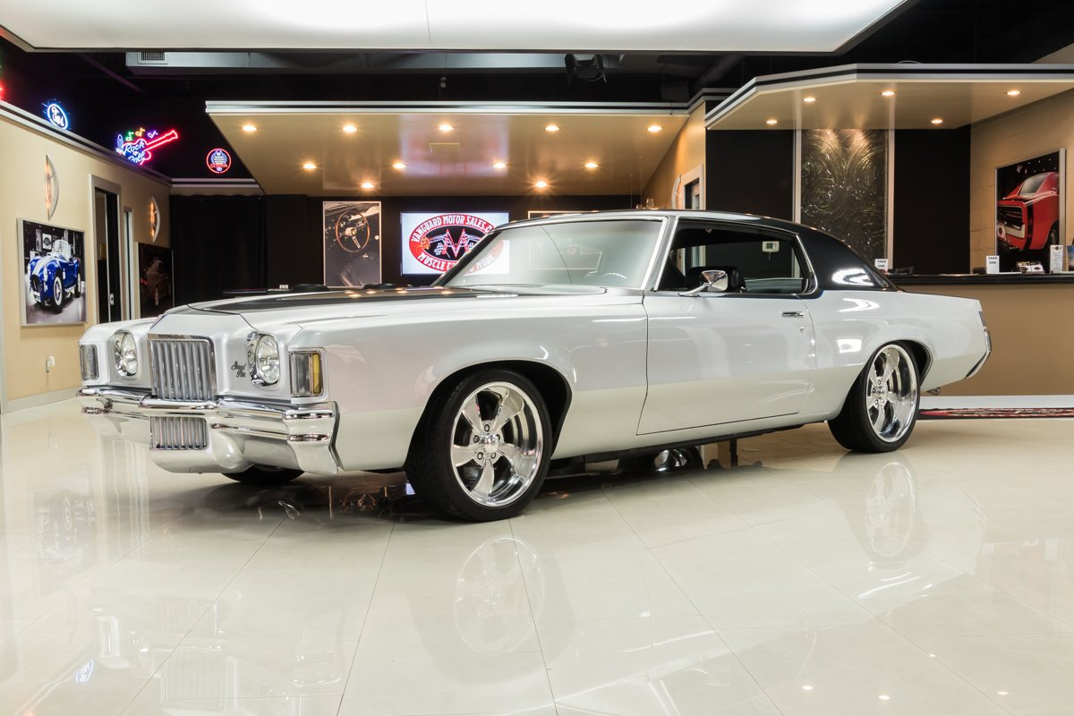 1971 pontiac grand prix restomod