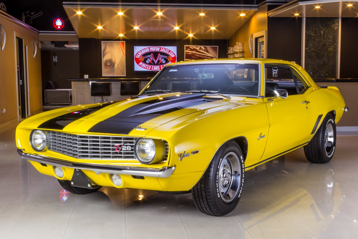 1969 Chevrolet Camaro | Classic Cars for Sale Michigan