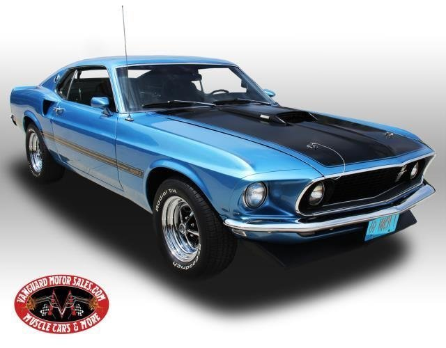 1969 ford mustang fastback s code