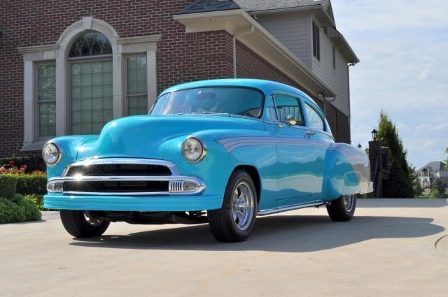 1951 chevrolet fleetline hot rod