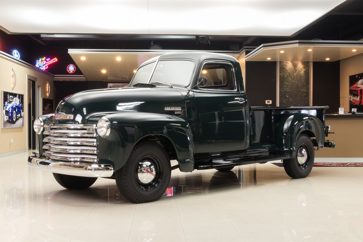 1949 Chevrolet 3600 Classic Cars For Sale Michigan Muscle Old Chevy Panel Van 3 4 Ton Pickup