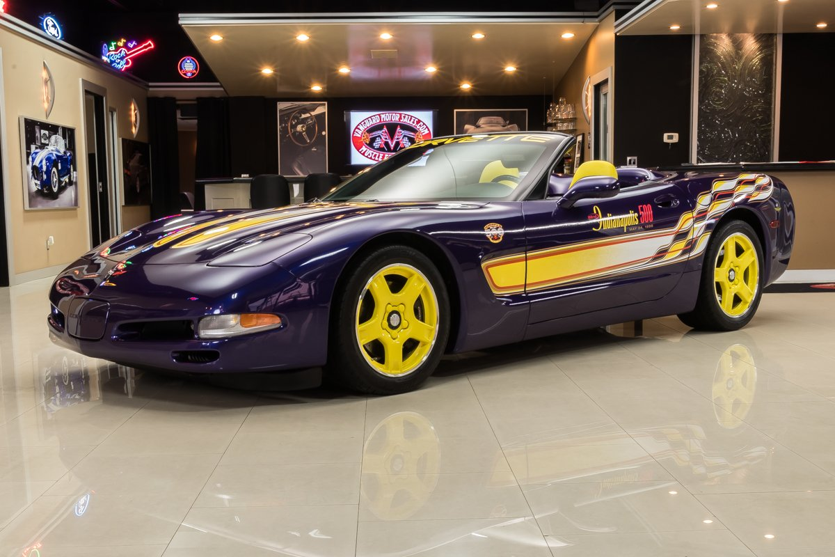 1998 chevrolet corvette indianapolis 500 pace car convertible
