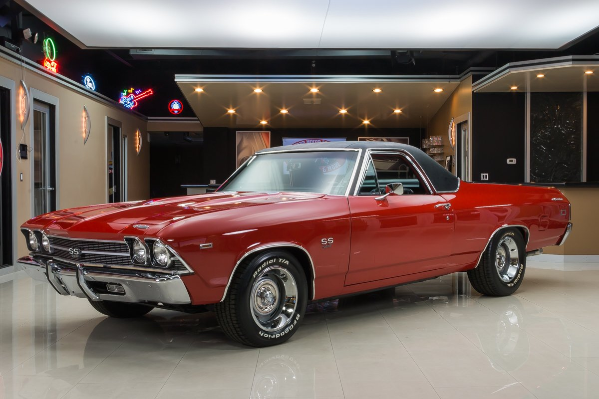 1969 Chevrolet El Camino | Classic Cars for Sale Michigan: Muscle
