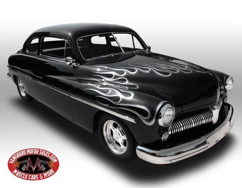 1949 mercury street rod lead sled