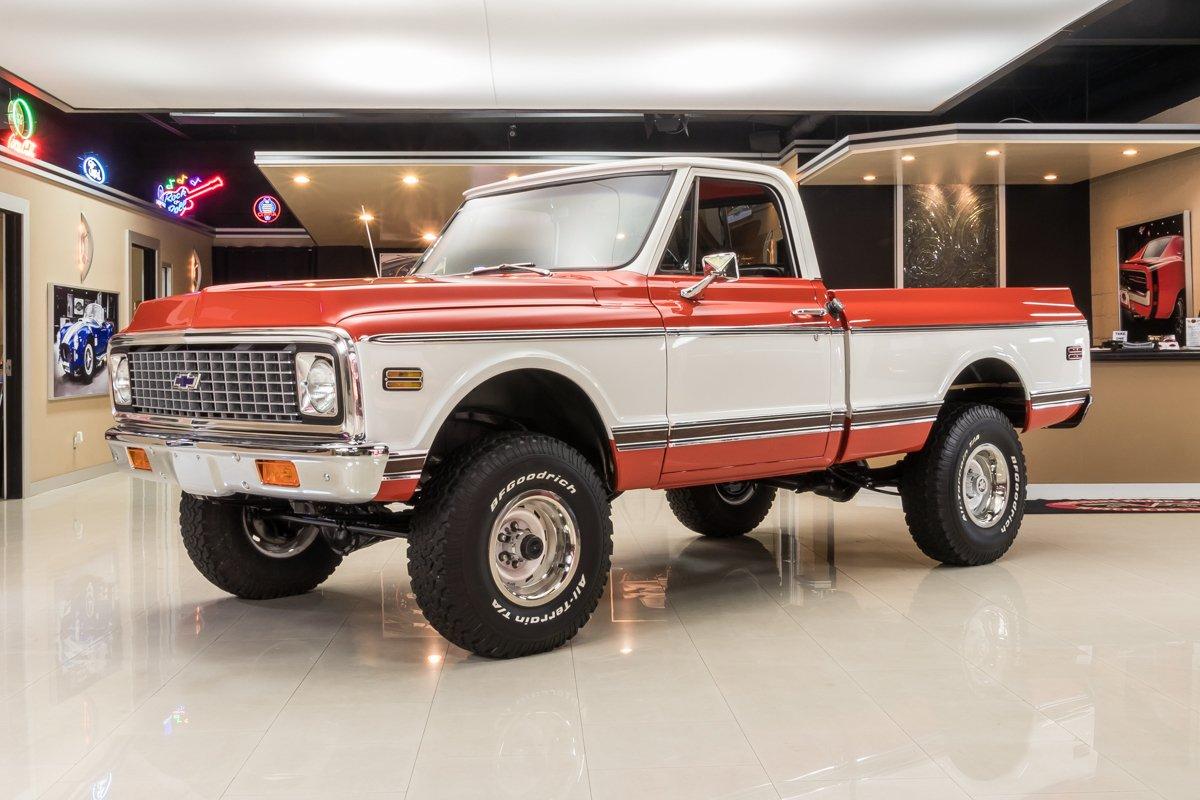 1972 chevrolet k 10 4x4 pickup