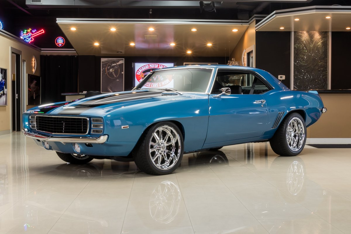 1969 chevrolet camaro restomod