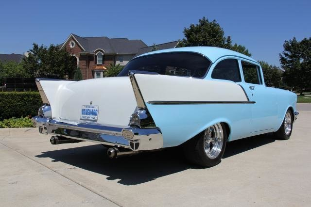 1957 chevrolet 150 muscle car