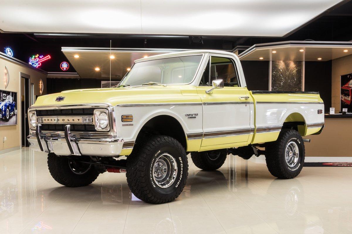 1970 chevrolet k 10 cst 4x4 pickup