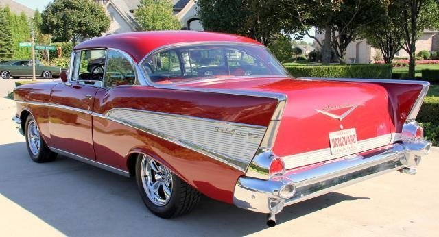 1957 chevrolet 210 watch video
