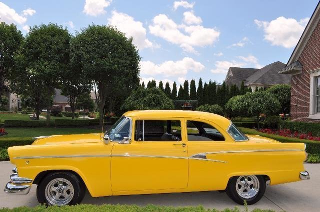 1956 ford customline watch video
