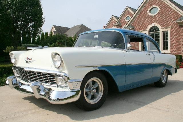 1956 chevrolet bel air 427 425 4 spd