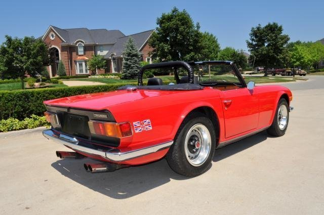 1972 triumph tr 6 watch video