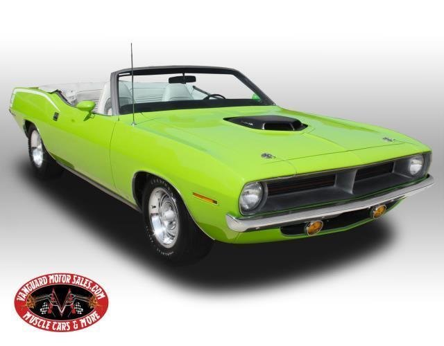 1970 plymouth cuda tribute convertible