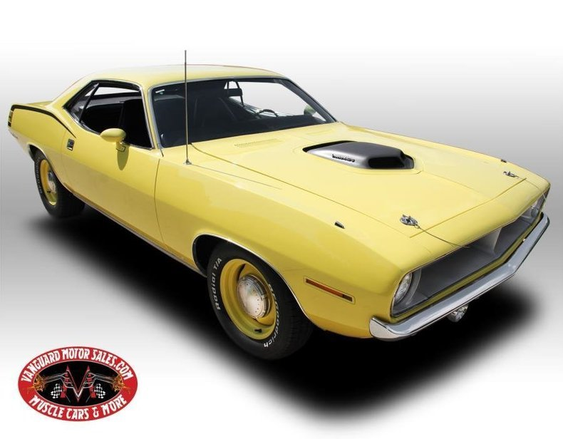 For Sale 1970 Plymouth Cuda