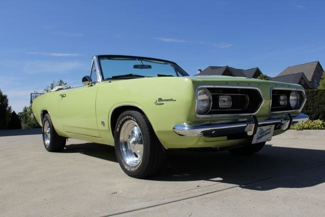 1967 plymouth barracuda watch video