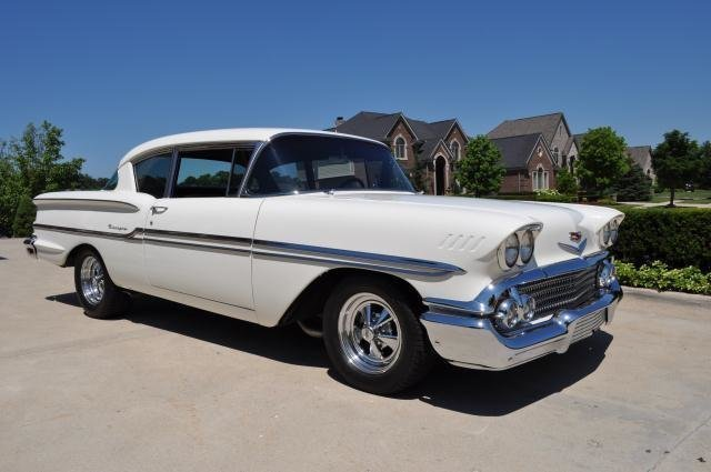 1958 chevrolet biscayne watch video