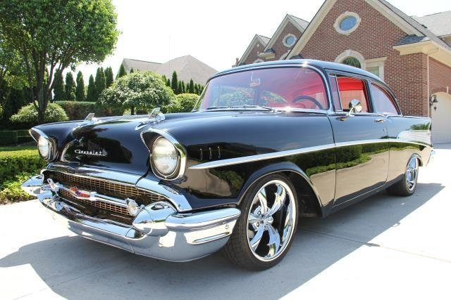 1957 chevrolet bel air 454 6 speed