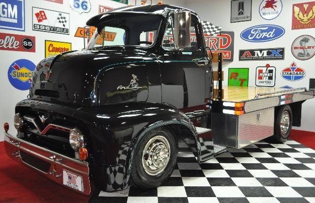 For Sale 1955 Ford Cab Over