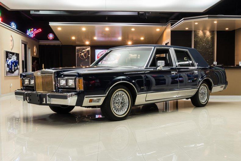 1989 Lincoln Town Car Signature For Sale 108869 Mcg