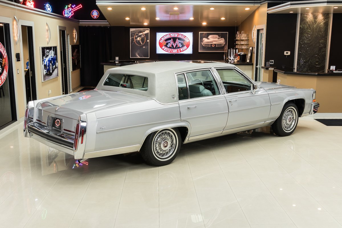 1987 Cadillac Brougham Sedan for sale #101337 | MCG