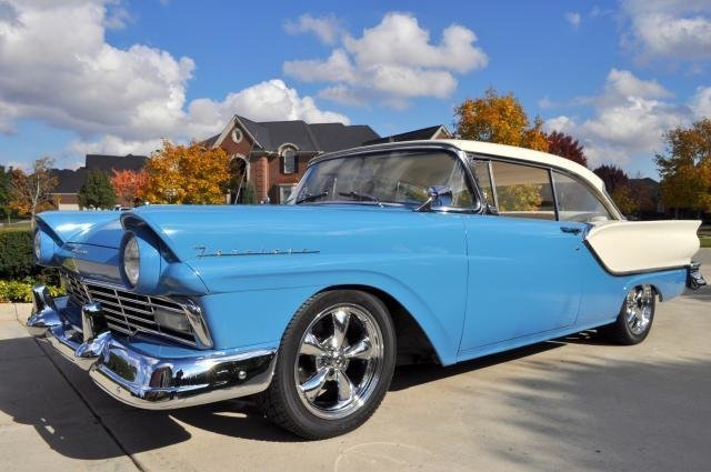 1957 ford fairlane watch video