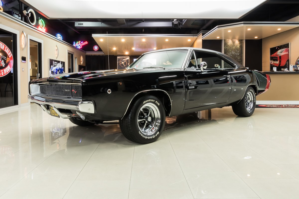 1968 dodge charger r t hemi