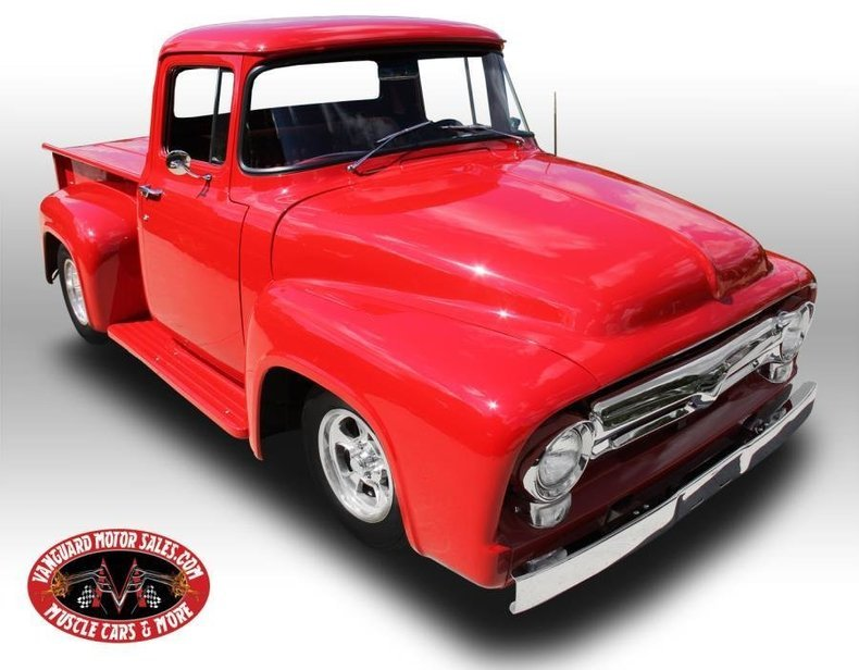 1956 ford f 100 pickup 5 0 fuel injected