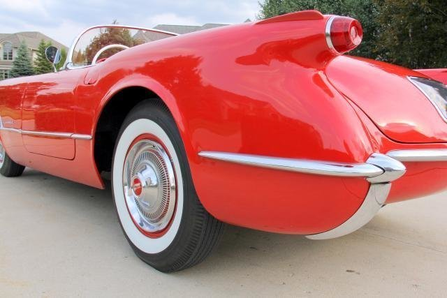 1954 chevrolet corvette watch video