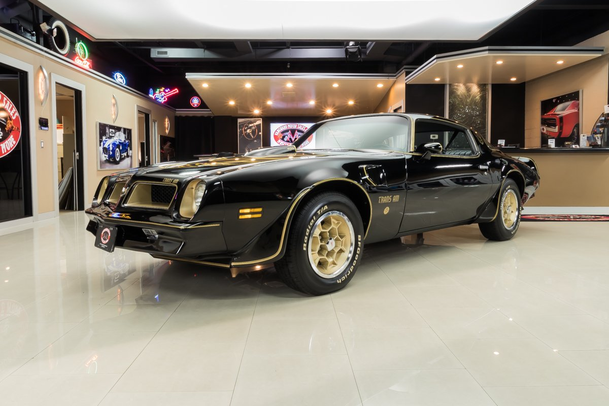 1976 pontiac firebird trans am se 50th anniversary