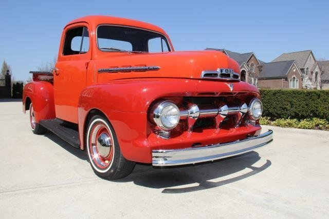 1951 ford f 1 watch video