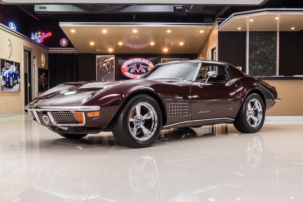 1971 chevrolet corvette restomod