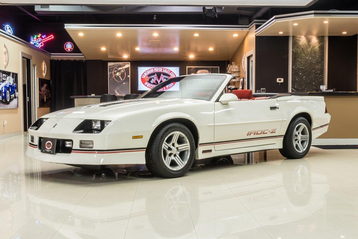 1989 chevrolet camaro iroc z28 convertible