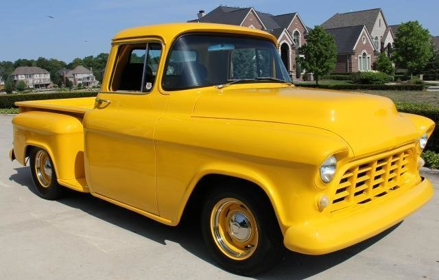 1955 chevrolet pickup street rod