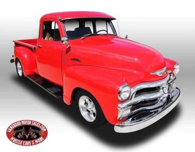 1954 chevrolet pickup resto mod