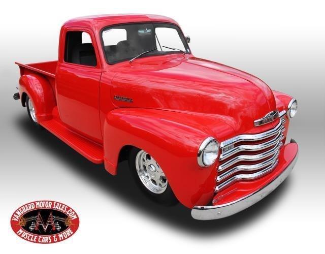 1953 chevrolet pickup street rod