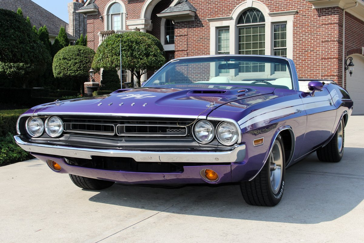 1971 dodge challenger convertible