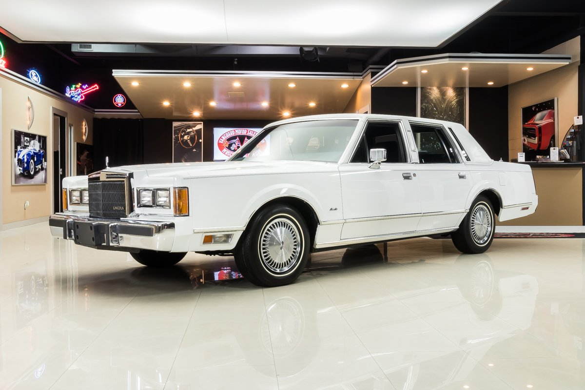 1989 Lincoln Town Car Classic Cars For Sale Michigan Muscle Old