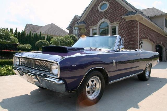 1967 dodge dart 340 6 pack