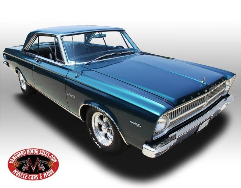 For Sale 1965 Plymouth Satellite
