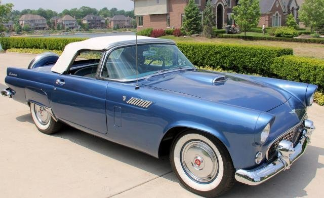 1956 ford thunderbird watch video