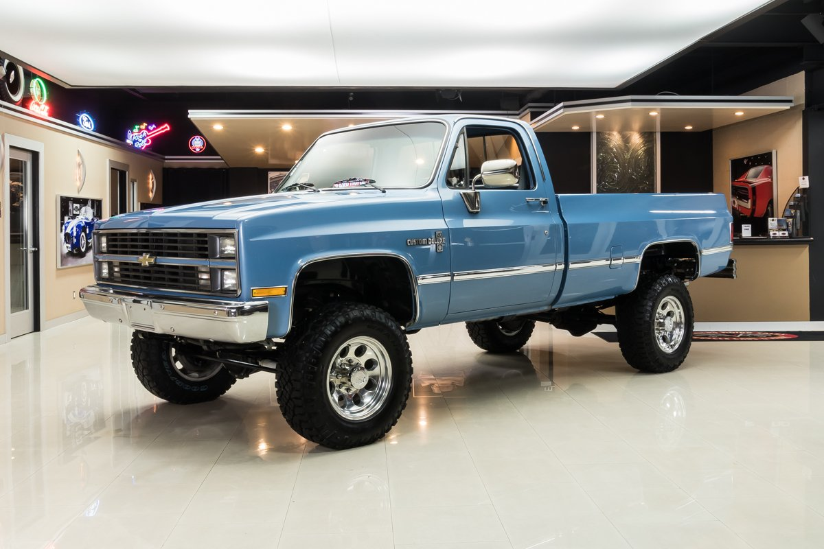 For Sale 1984 Chevrolet K-20