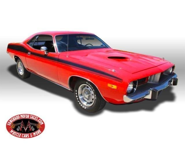 For Sale 1974 Plymouth Cuda