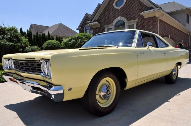 1968 plymouth road runner watch video