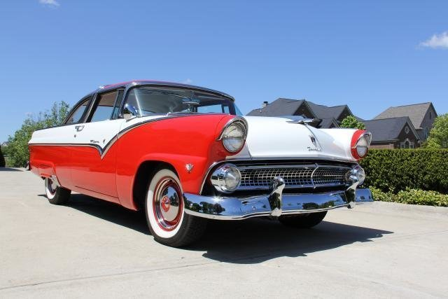 1955 ford crown victoria watch video