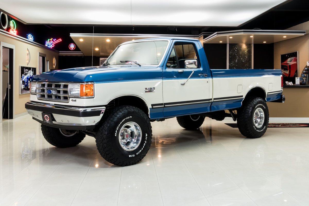 1988 ford f150 xlt lariat 4x4 pickup