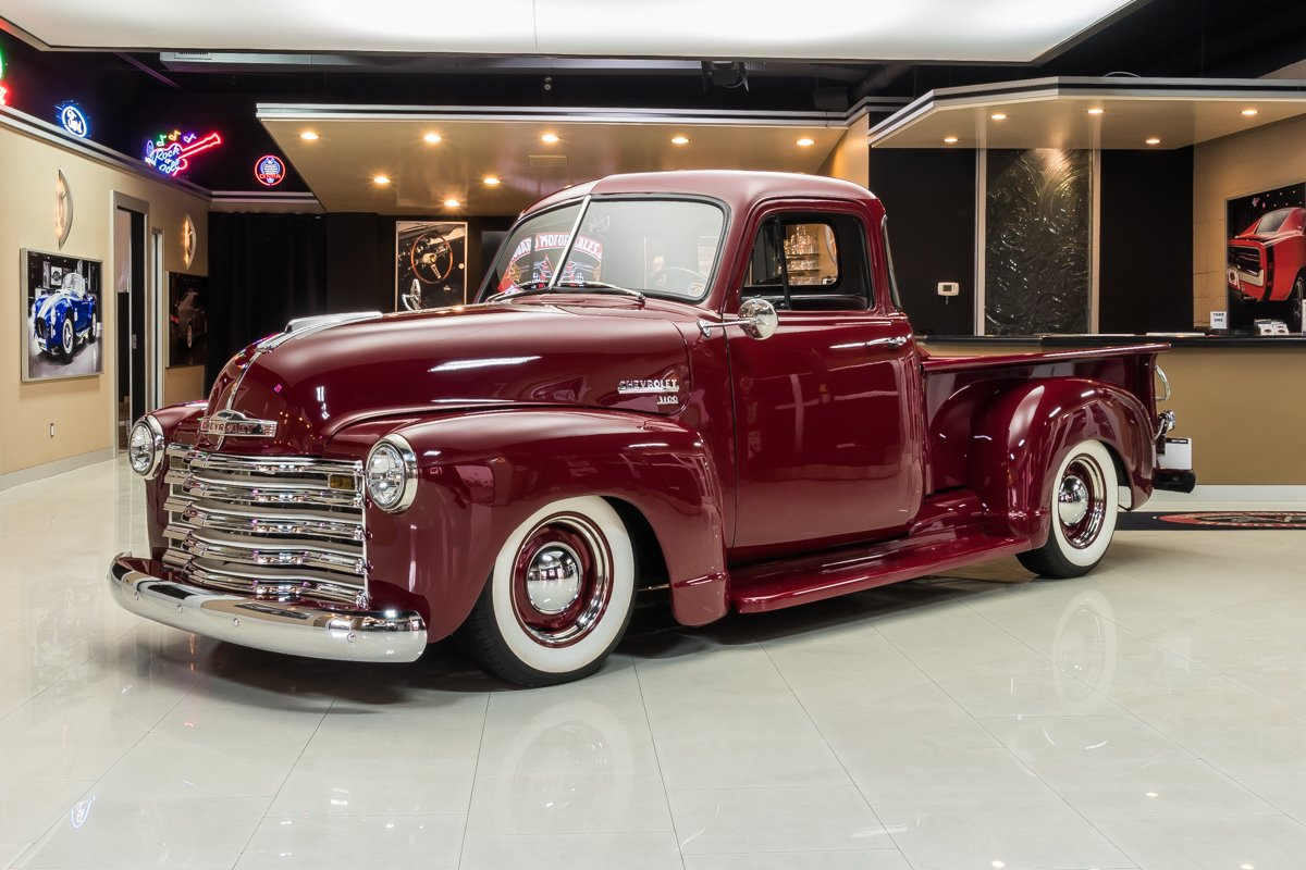 1952 chevrolet 3100 5 window pickup