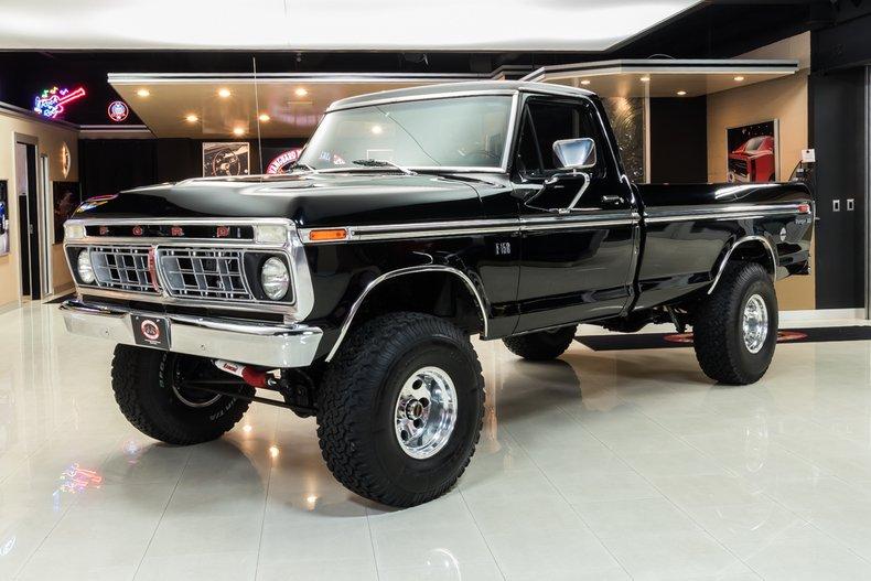 1976 Ford F150 Xlt Ranger 4x4 Pickup For Sale 64368 Motorious